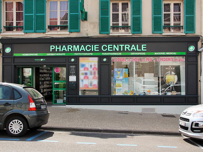 Pharmacie CENTRALE DE SAINT ARNOULT